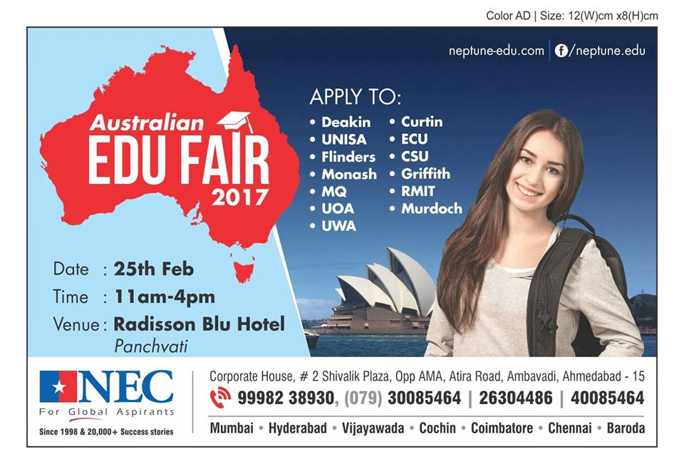 Australian Education Fair At Gujarat(Ahmedabad)