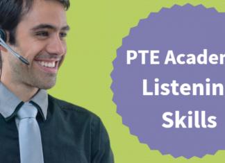 pte academic listening skills