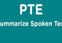 PTE Academic Summarize Spoken Text