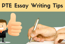 PTE Academic Essay Writing