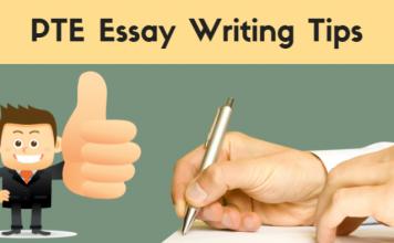 PTE Academic Essay Writing