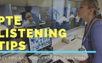 PTE Academic Listening