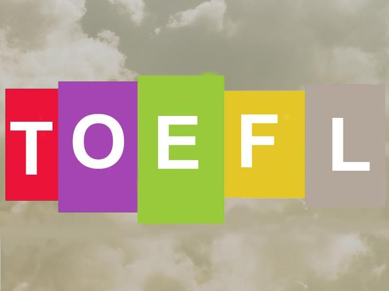 PracticePTE, The TOEFL Test,  information about the exam